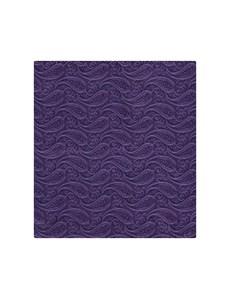 Hochzeits Kollektion – Einstecktuch – Seide – Paisley purpur