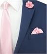 Einstecktuch aus Seide - rosa