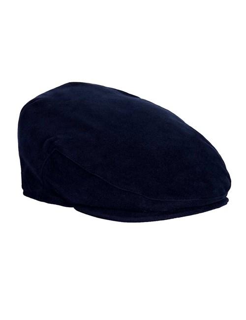 Schiebermütze Balmoral – Moleskin – Blau