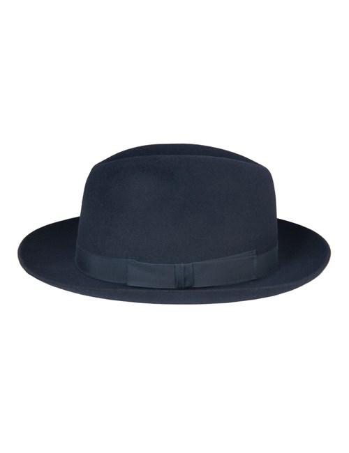 Navy Epsom Trilby Hat