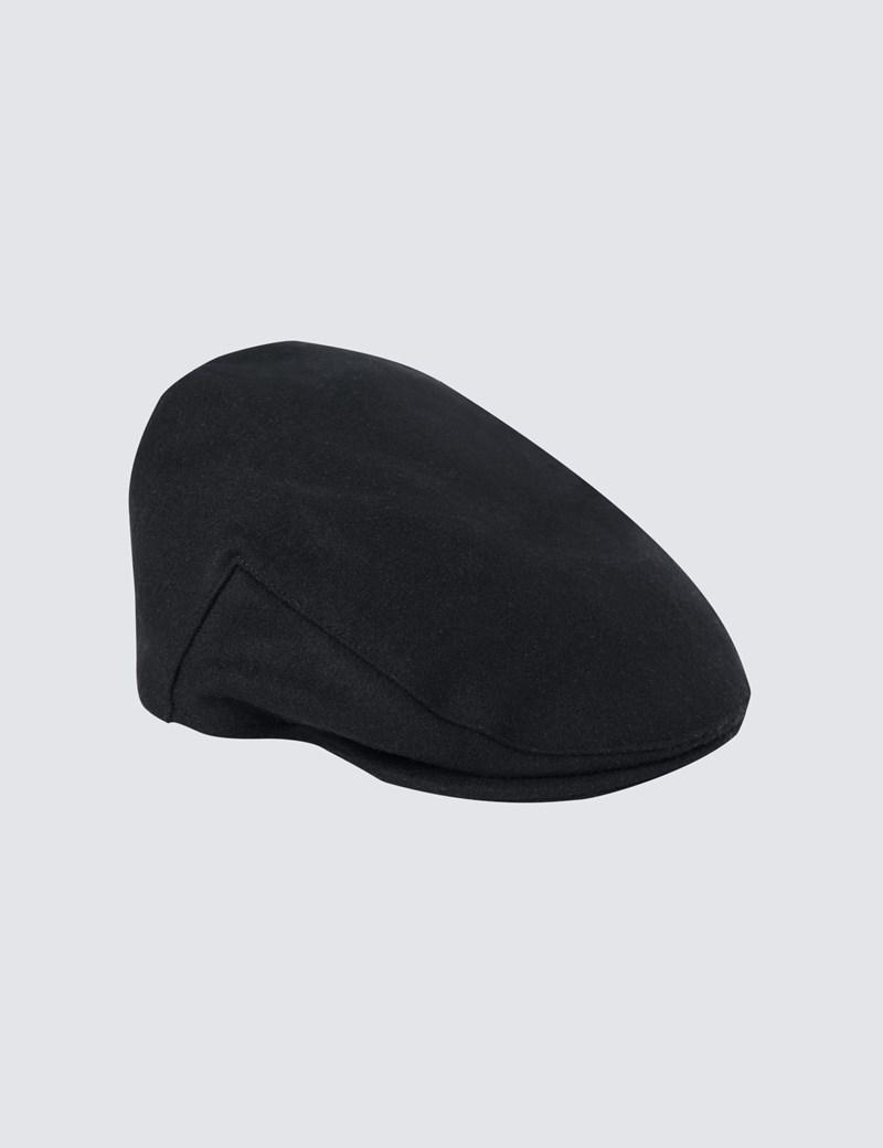 Men's Black Balmoral Cap