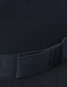 Men's Navy Trilby Hat