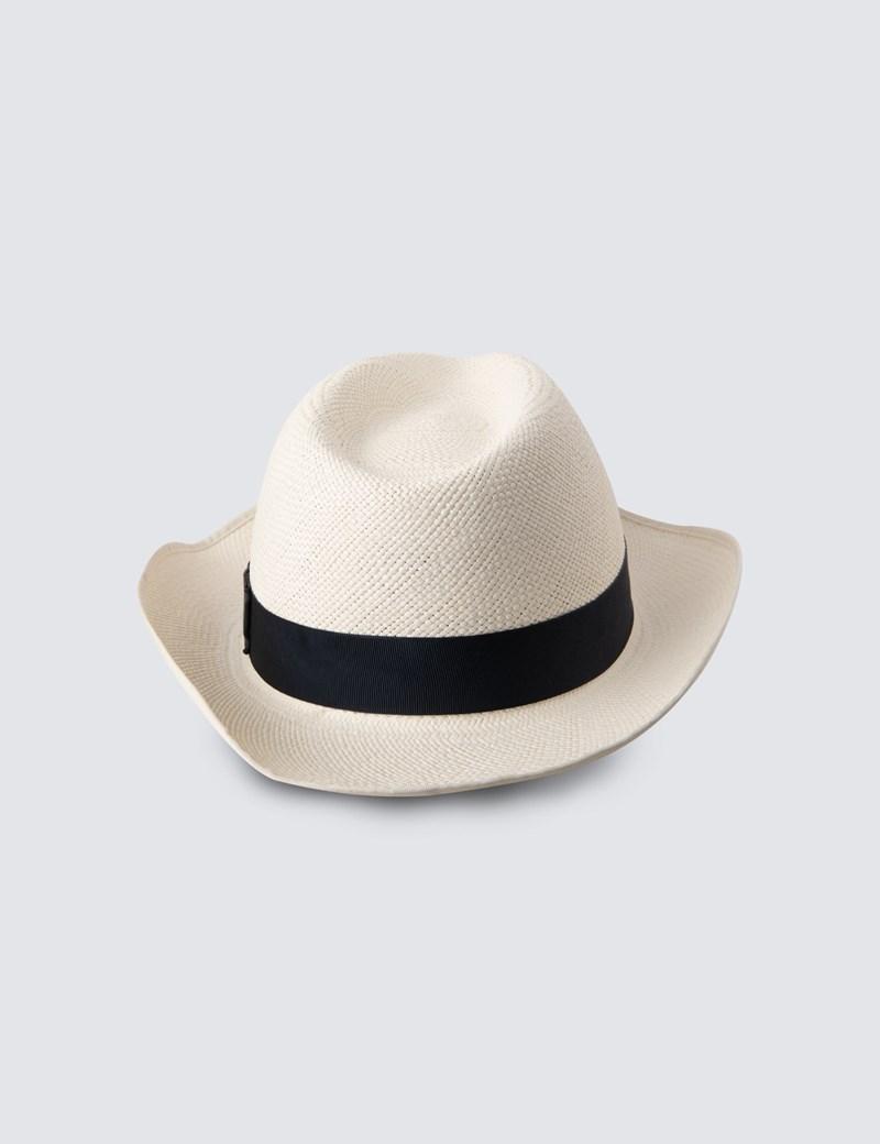 Men's Ivory Classic Panama Hat