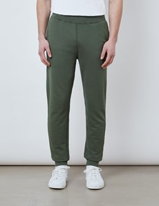 Green Garment Dye Organic Cotton Sweatpants