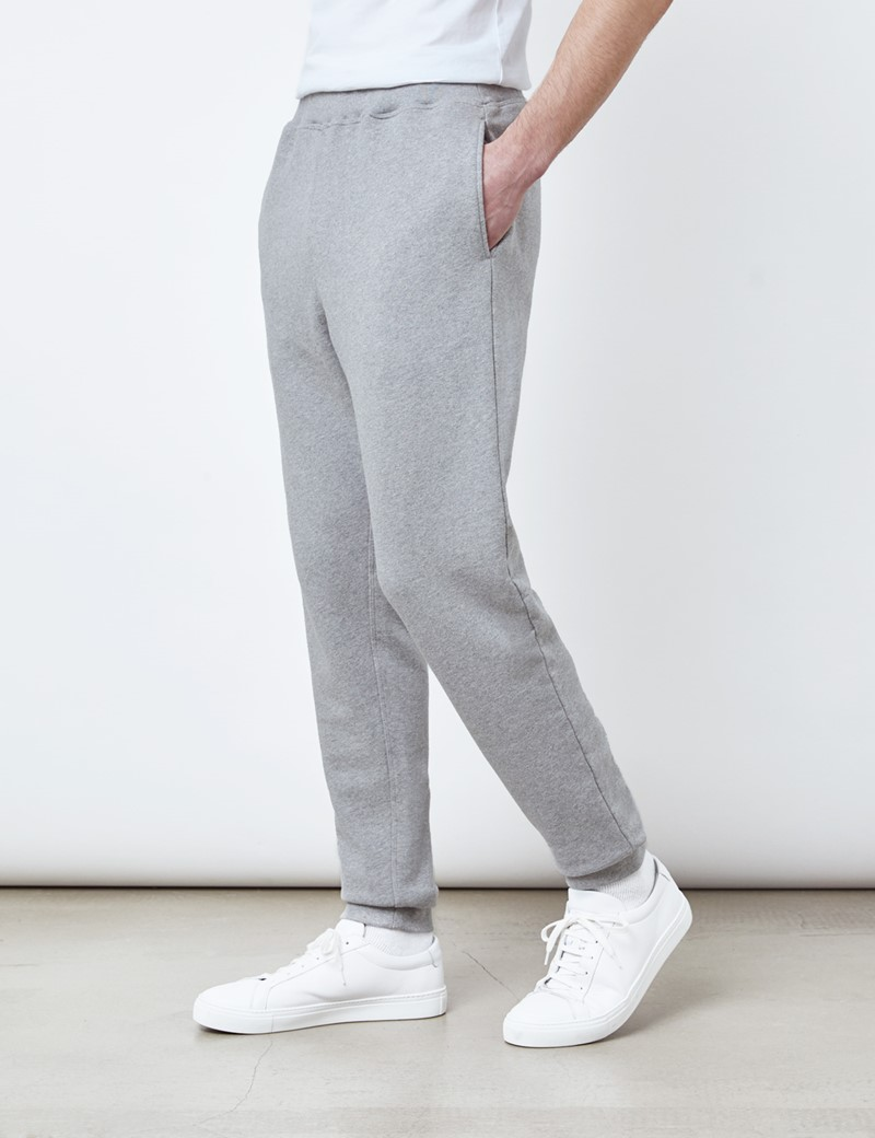 Lounge Sweatpants – Garment Dye – Bio-Baumwolle – Grau