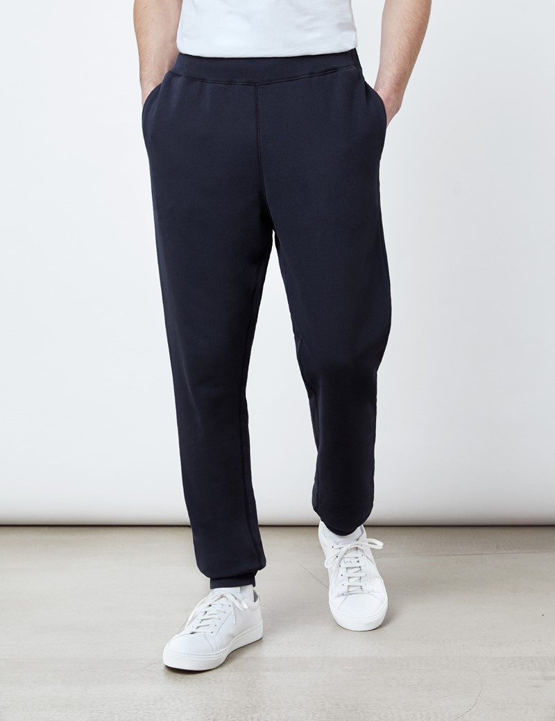 Lounge Sweatpants – Garment Dye – Bio-Baumwolle – Navy