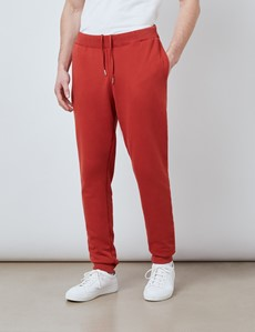 Rust Garment Dye Organic Cotton Sweatpants