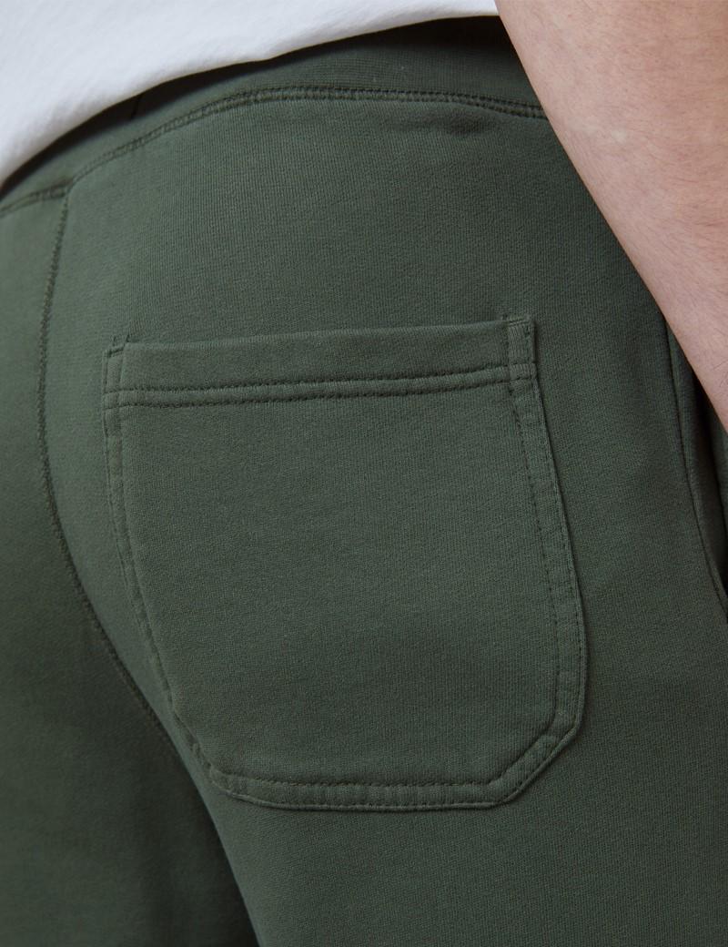 Green Garment Dye Organic Cotton Sweatpants