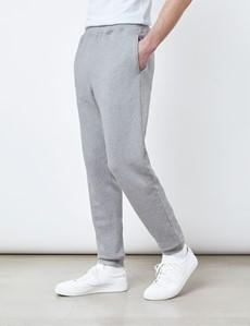 Grey Garment Dye Organic Cotton Sweatpants