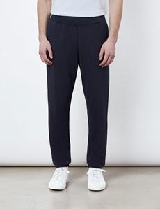 Navy Garment Dye Organic Cotton Sweatpants