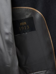 Men's Charcoal Tailored Fit Italian Suit - 1913 Collection