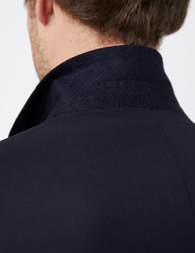 Anzug 1913 Kollektion - Tailored Fit - navy - 110s Wolle - 2-Knopf Einreiher