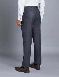 Men's Blue Tailored Fit Italian Suit - 1913 Collection
