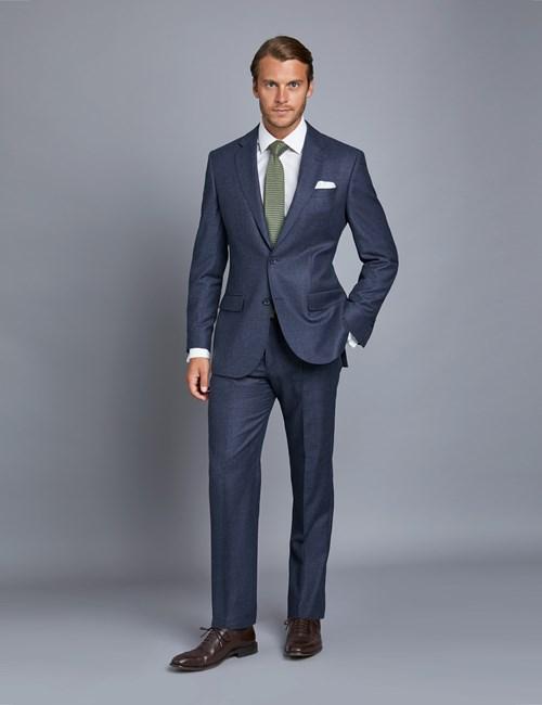 1913 Kollektion – Luxuriöser Anzug aus 150S Schurwolle – Tailored Fit – Blau