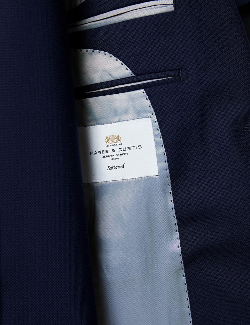 Men's Navy Slim Fit Commuter Suit