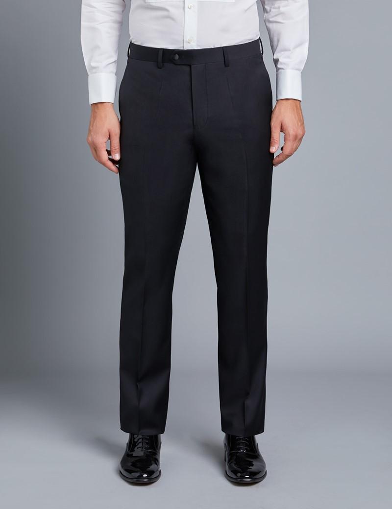 Men's Black Shawl Slim Fit Dinner Suit