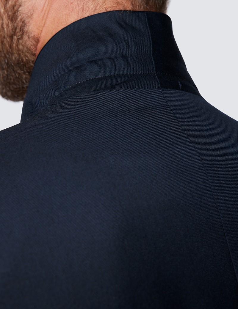 Men's Navy Shawl Slim Fit Dinner Jacket