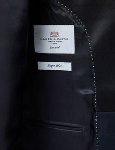 Men's Navy Shawl Slim Fit Dinner Suit