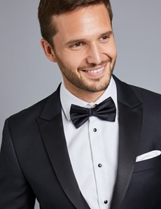 Men's Black Slim Fit Dinner Jacket