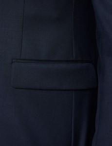 Men's Navy Slim Fit  Dinner Jacket