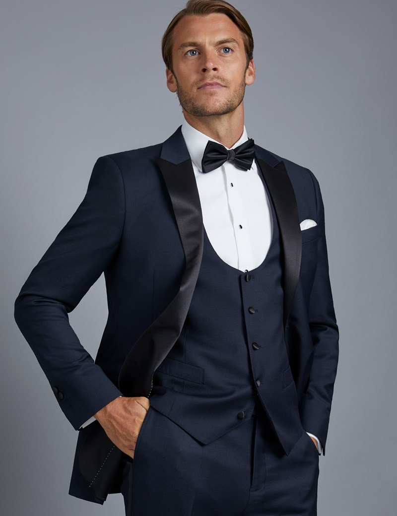 Men's Navy Slim Fit Dinner Suit