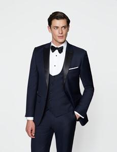 Men's Navy Slim Fit Dinner Suit