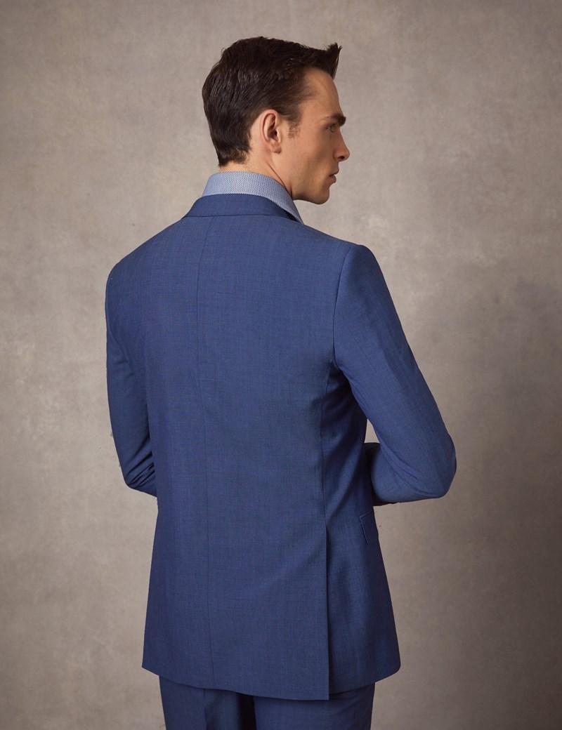 Anzugsakko - Extra Slim Fit - Lichtblau - 100s Wolle - 2-Knopf Einreiher - Gefüttert - Seitenschlitze