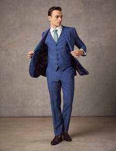 Men's Blue Slim Fit Suit