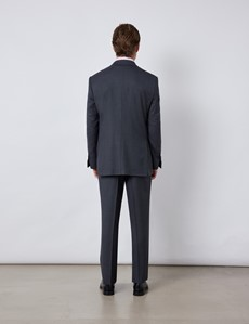 Men's Charcoal Classic Fit Suit