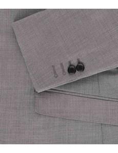 Men's Grey Twill Extra Slim Fit Suit Jacket