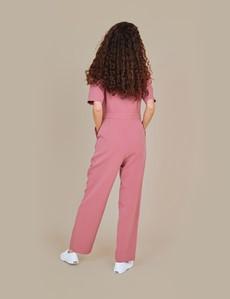 Women's Rohini Pink Jumpsuit