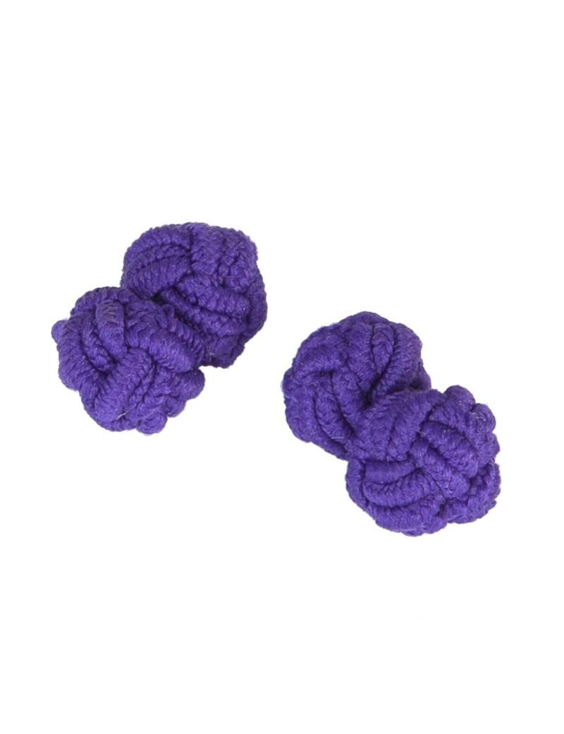 Women's Purple Silk Knot