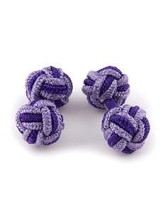 Women's Purple & Lilac Silk Knot
