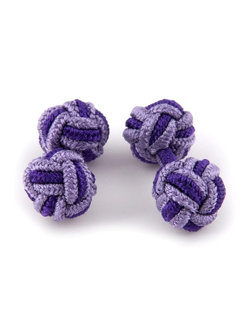 Women's Purple & Lilac Silk Knot