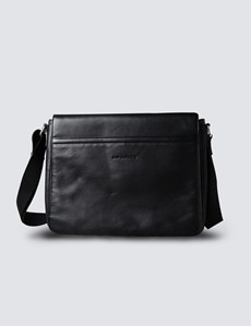 Black Dispatch Messenger Bag