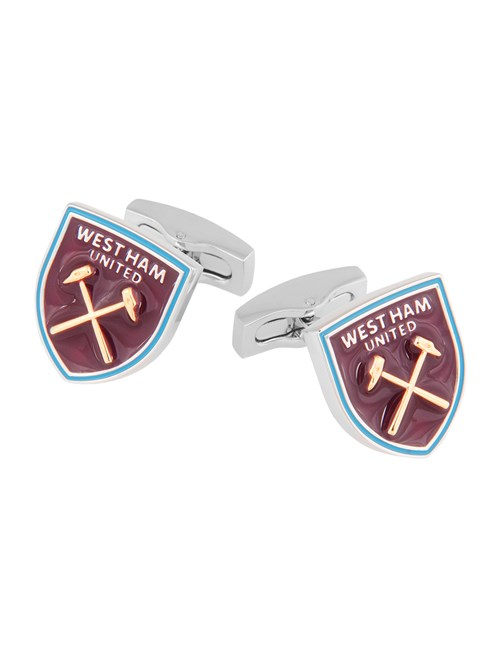 Men's Claret West Ham Shield Cufflinks