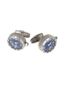 Men's Blue Watch Cufflink