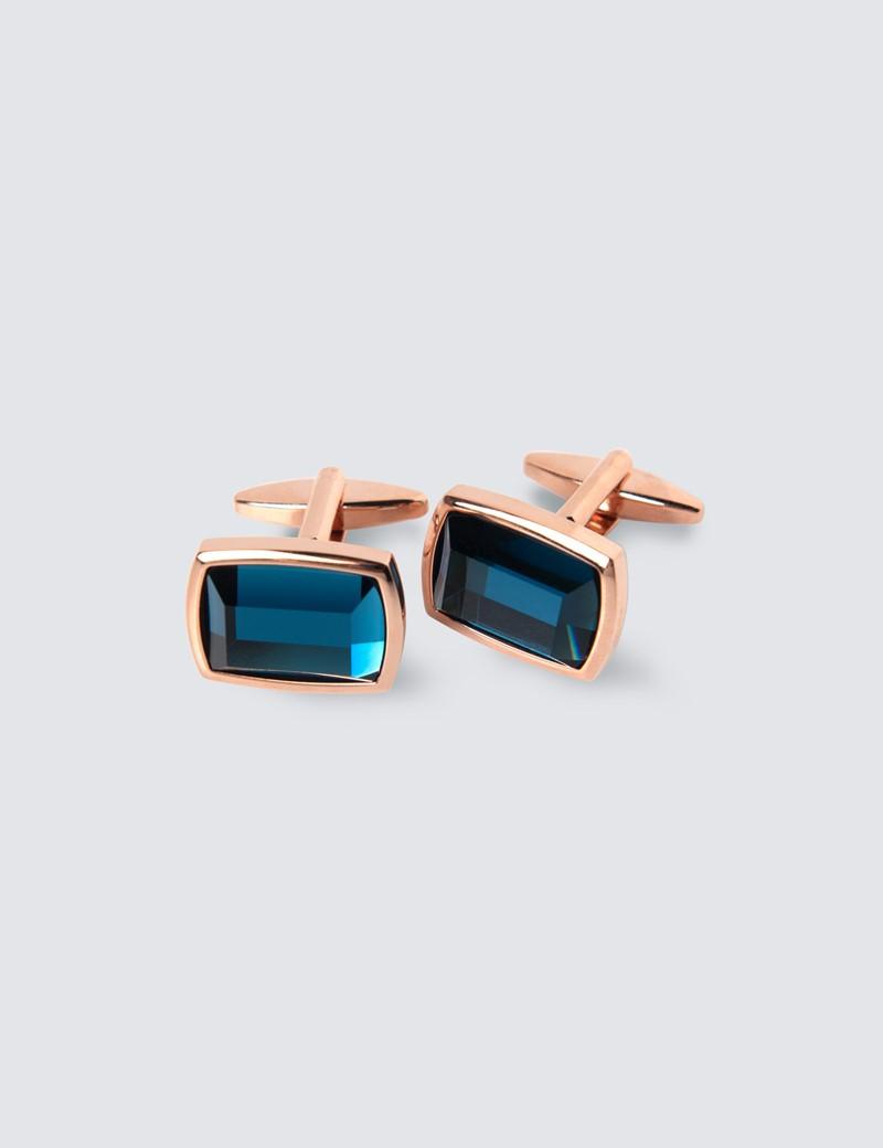 Blue Stone Cufflink