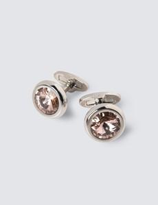 Men's Assorted Crystal Cufflink Gift Set