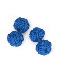 Men's Royal Blue Silk Knot