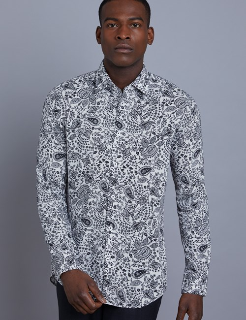 Casual Hemd – Slim Fit – Mayfair – Graphic Paisley