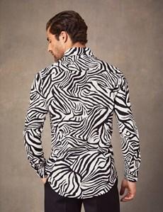 Casualhemd – Slim Fit – Mayfair – Zebra