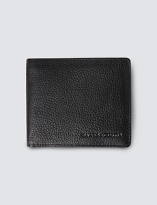 Black Wallet With Coin Pocket