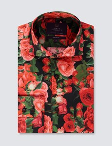 Casualhemd – Slim Fit – York – Roses are red