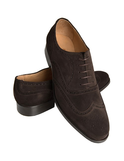 Men's Brown Suede Brogue