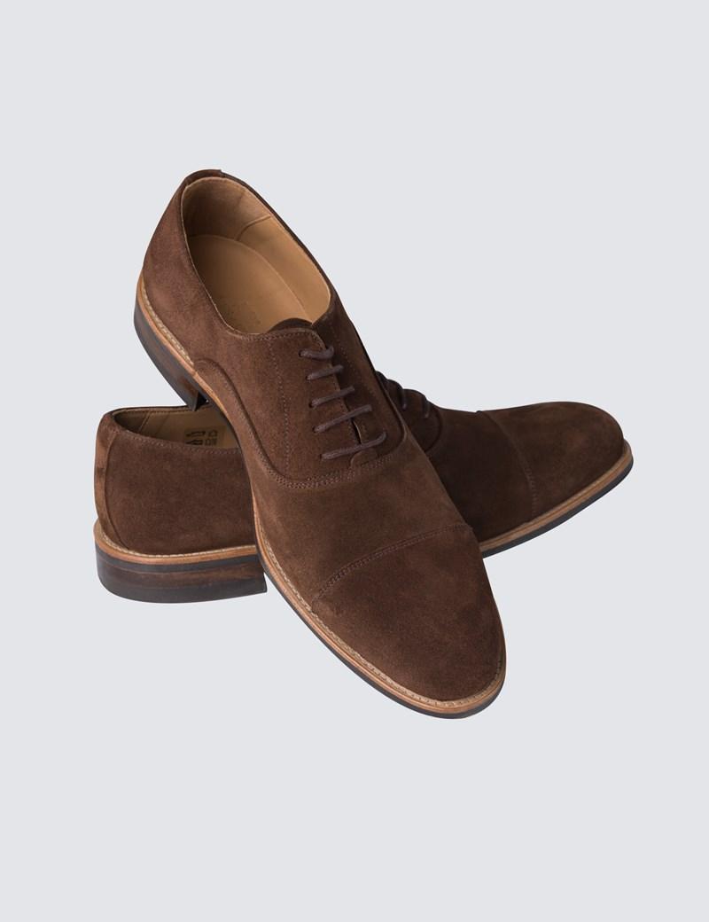 7ecad5bc47a7c Men's Brown Suede Shoes
