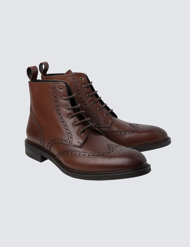 30367ba227d Men's Tan Leather Boot