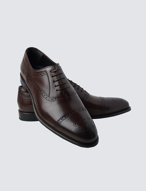 Men's Brown Leather Full Brogue