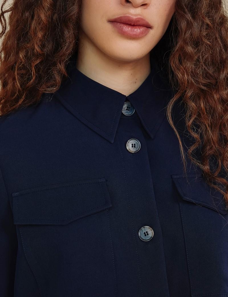 Women's Navy Stevie Shirt