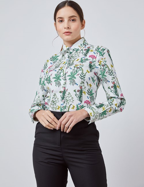 New In Women S Clothing Buy Shirts And Blouses Hawes Curtis